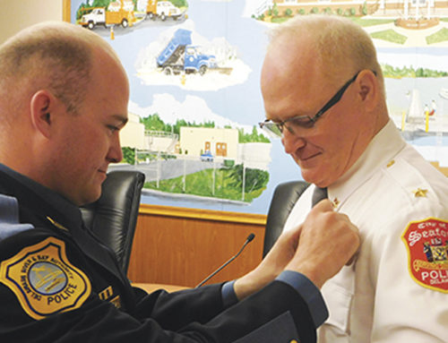 Marshall Craft, Jr. sworn in as new police chief