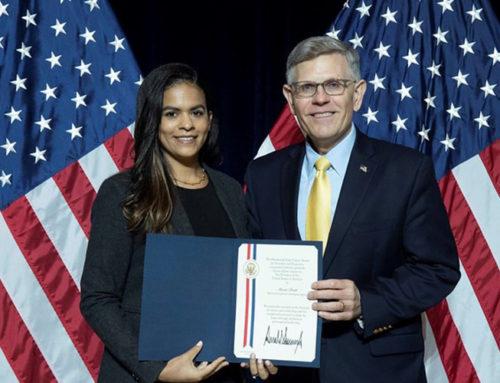 Seaford High graduate receives prestigious governmental award