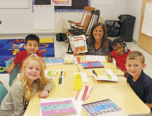 Laurel Teacher of the Year Donna Sava has been teaching first grade for 20 years