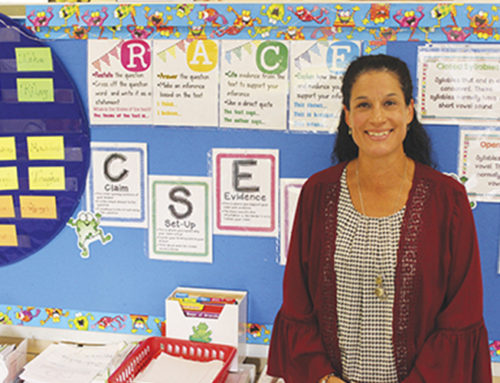 Burke is named Seaford District Teacher of the Year