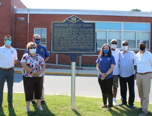 Seaford Middle School, Frederick Douglass Elementary receive Historical Markers