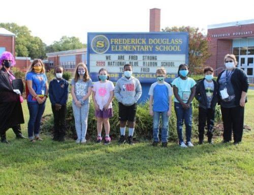 Frederick Douglass Elementary School wins National Blue-Ribbon School honor