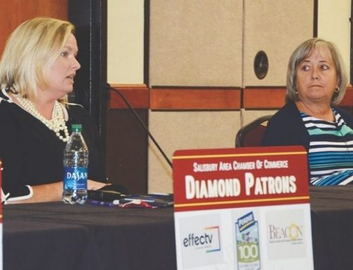 Panel discusses COVID-19, opioid crisis during Salisbury Area Chamber of Commerce luncheon