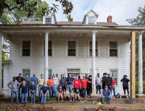 Effort underway to preserve 18th century house in Laurel