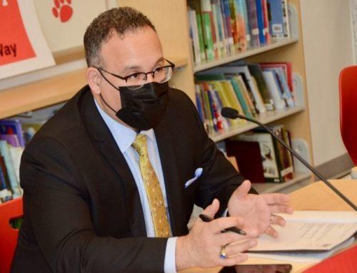 U.S. Secretary of Education Miguel Cardona visits Laurel Elementary School