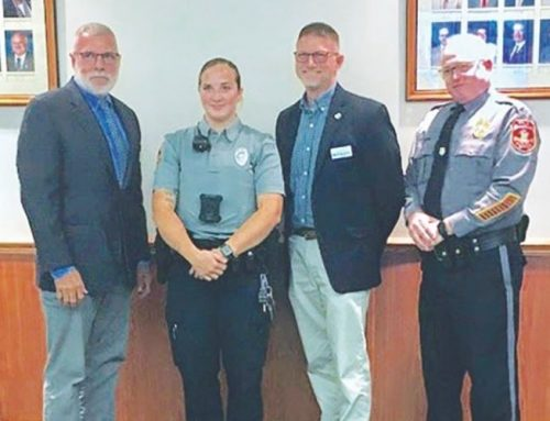 Seaford Chief Craft announces new recruit, promotions during City Council meeting
