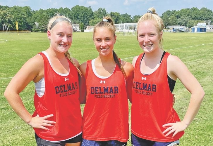 Delmar varsity field hockey team looks to repeat as state champions